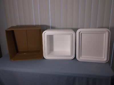 """Styrofoam Shipping Container and Box 14"""" X 13"""" X 10"""" - 2"""" Thick"""