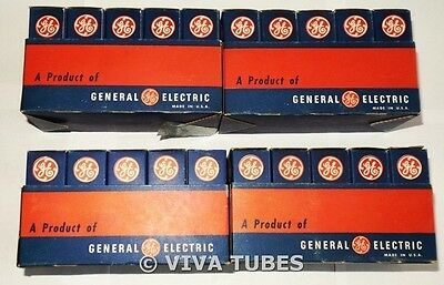 NOS NIB GE Lot Of 40 Type 6BC5 Vacuum Tubes