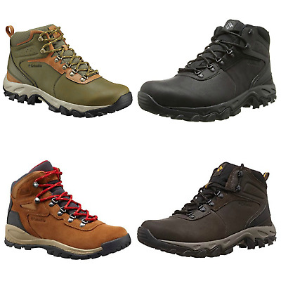 "New Mens Columbia ""Newton Ridge Plus"" Waterproof Techlite Hiking Trail Boots"