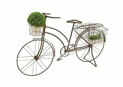 Deco 79 Metal Bicycle Planter 63 by 39-Inch