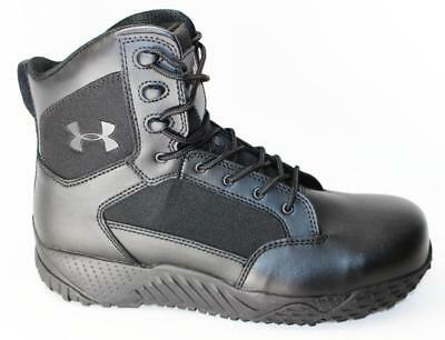 Under Armour Mens Stellar Tac Protect Tactical Hiking Boot Black 1276375-001