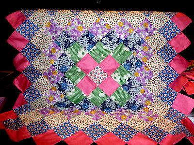 """Vintage Quilt squares 15 of them very well done size 19"""" x 20"""""""