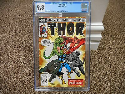 Thor 321 cgc 9.8 1st appearance of Freya Goddess WHITE pages Marvel movie 1982