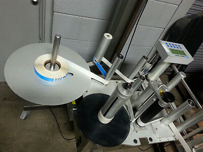 Labeler Label-Aire 3115 Nv 7 Inch  Stepper 16 Inch Od Rolls