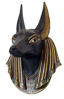 Egyptian Anubis God of Underworld Wall Scupture 15 Inch Tall