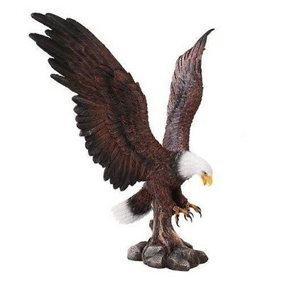 Large Eagle Home Decor Statue Made of Polyresin