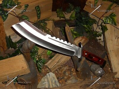 Bowie Knife/Combat Machete/Cleaver/Survival/Camp/Ridge Runner Brimstone canyon