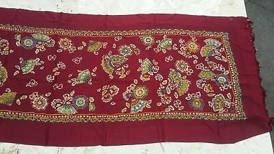 A. Sulka & Company Ney York Paris Chicago Silk Scarf France  Gorgeous