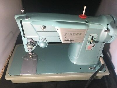 HEAVY DUTY INDUSTRIAL STRENGTH SINGER 327 SEWING MACHINE - +manual And Case