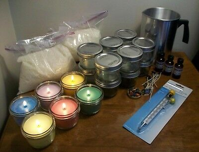 31 Old Books How to Make Homemade Candles & Soap Recipes And Manuals