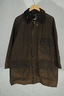Vintage Barbour Solway zipper waxed jacket M c40 cm