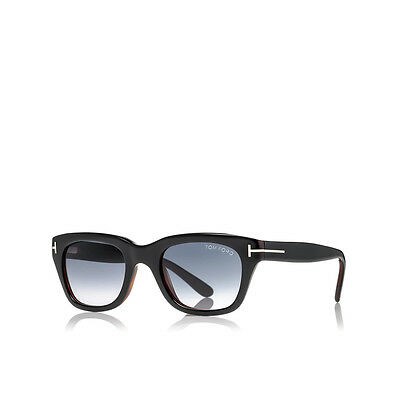 876d056906f32 Sunglasses Tom Ford Snowdon FT 0237 50 20 145 05B Shiny Black 100% Authentic  new