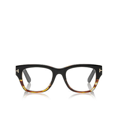 3d5bd40d455 Eyewear Tom Ford FT 5379 005 Plastic Square 51 20 145 Black 100% Authentic  new