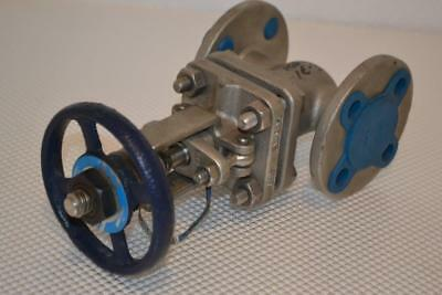 "One New Powell 3/4"" Gate Valve B-1393 (Cf8M)  Fig #2491."