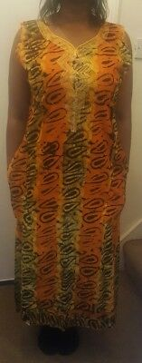 Beautiful African print Baltic  Dress