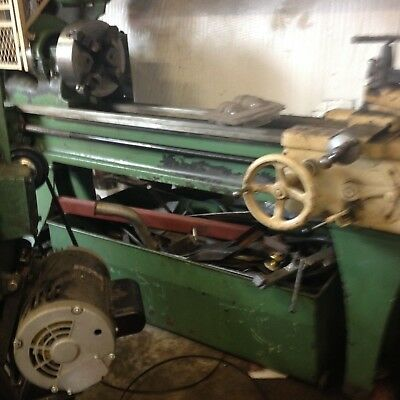 "South Bend Metal Lathe 16"" swing 12' bed"