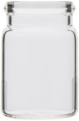 Wheaton 105000 Snap/Clip Top Vial, Glass, 7 mL (Pack of 190)
