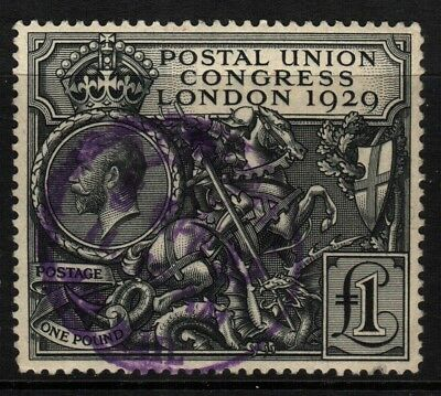 ~ Great Britain, Used, 209, Purple Cancel, Extremely Nice, Excellent Centering