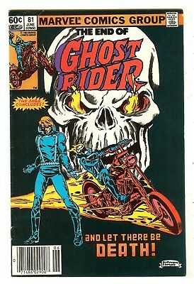 Ghost Rider 81   Death of Ghost Rider