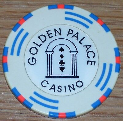 1.00 Chip From The Golden Palace Casino. S&h Combined Up To Eight Chips Won