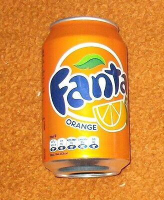 FANTA ORANGE Dose 330ml VOLL full can Dänemark Coca-Cola Company