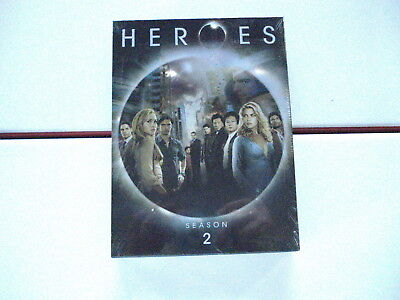 NEW Sealed HEROES Complete Season 2/2nd/Two/Second DVD/4 disc box set Free S&H