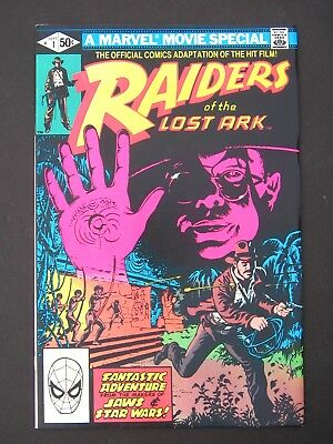 Raiders Of The Lost Ark #1  TV 1981 NM  Marvel Movie Special