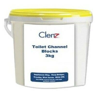 Toilet Channel Cube, 3.25 kg Tubs, Yellow