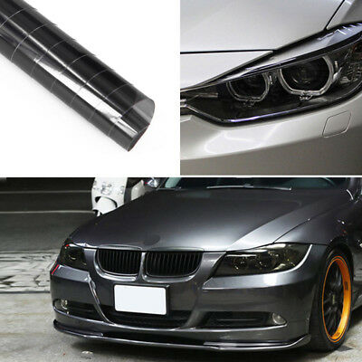 Light Black Chameleon Tint Film Headlights Tail lights Car Vinyl Wrap Fog Lamps