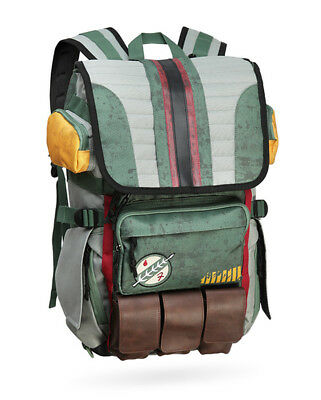 Star Wars Boba Fett Armor Backpack Unisex Laptop Travel Shoulder Bags Satchel