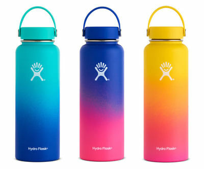 Hawaii Exclusive Multi-Color 40 oz Wide Mouth Hydro Flask