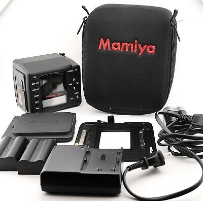 Mamiya ZD Digital Back and Mamiya HX701 Digital Back Adapter RZ67 Pro II D