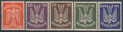 GERMANIA REICH 1922 - ** (catalogo n.° PA 15/19) (2734)