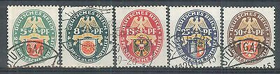 GERMANIA REICH 1928 - US (catalogo n.° 416/420) (7006)