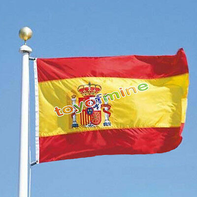 Spain Polyester International Country Flag 3 X 5 Feet Us