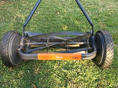 QUALITY Flymo H40 hand push cylinder reel lawn mower