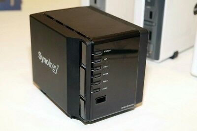 "Synology DS409 slim: 4-bay 2.5"" NAS with RAID 0/1/5/6, including 2TB (4x 500GB)"