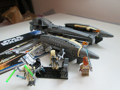 Lego Star Wars 8095 General Grievous´ Starfighter mit Figuren + Bauanleitung