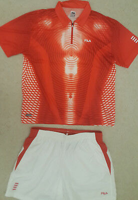 Fila Tennis Shirt + Short XL neu