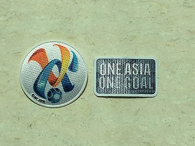 Set Of 2016/2017 Asian Champions League Cup AFC One Asia One Goal Patch Badge