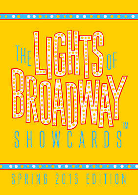 Lights of Broadway Show Cards: Spring 2016 10 Card Variety (Retired Set)