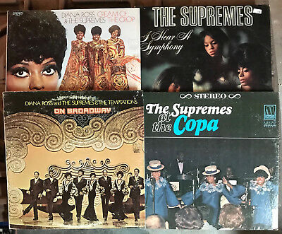 LOT of 16 DIANA ROSS & THE SUPREMES LPs original Motown soul girl group classics