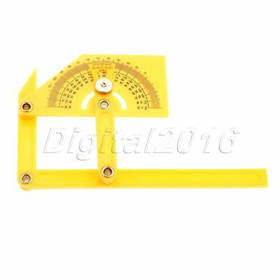 Protractor Template Ruler Multi-Angle Measure Gauge Woodworking Measuring Tools