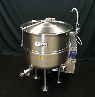 Steam Jacketed Kettle Cleveland Gas 40 Gallon Kgl-40 Absolutely Flawless!!