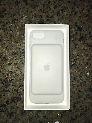 Authentic Apple iPhone 7 Smart Battery Case - MN012LL/A - Matte White