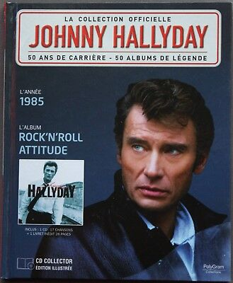 "Johnny Hallyday La Collection Officielle ""Rock'n'roll Attitude""     Cd"
