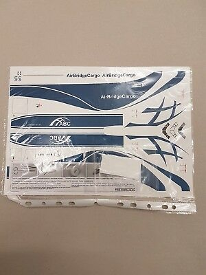 PAS Decals Boeing 747-8F Air Bridge Cargo 1:144 Neu