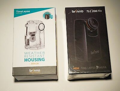 Brinno TLC200PRO Time Lapse Camera with weather resistant case and NO RESERVE!