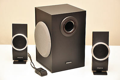 Creative Inspire M2600 - 2.1 computer speakers  - Mint Condition