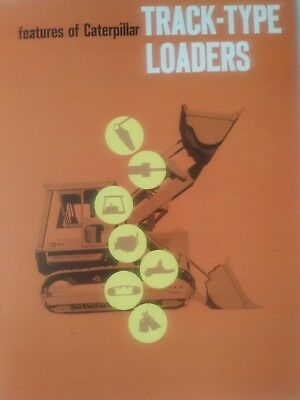 Original 1970's Caterpillar Track-Type Loaders 19 page Brochure